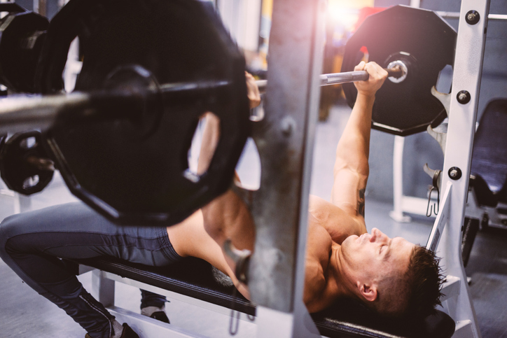 Bench-Press Mind Muscle Control