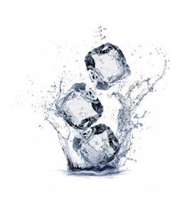 freeze fat cubes splash