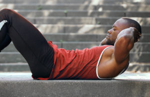 ab exercise crunches - Muscle Media
